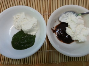 chutneys with whipped cream cheese