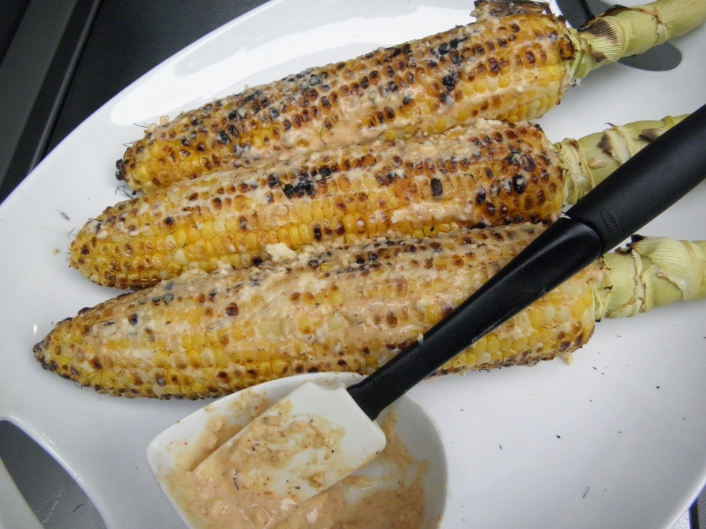 lip smacking good -corn on the cob!