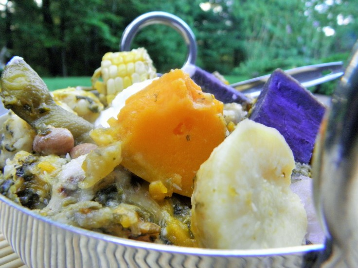 #Easy recipe for an #Indiancuisine #Root #vegetable #Stew. #Healthy #vegetarian #vegan #recipe with #coconut