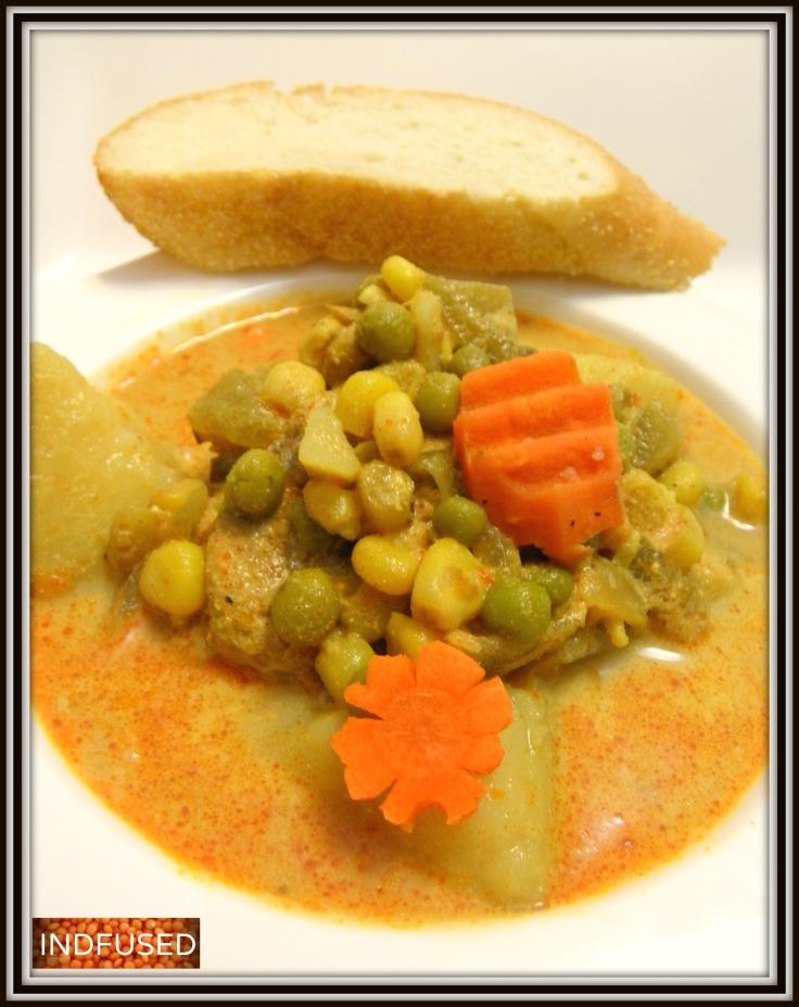 Indian style chicken stew
