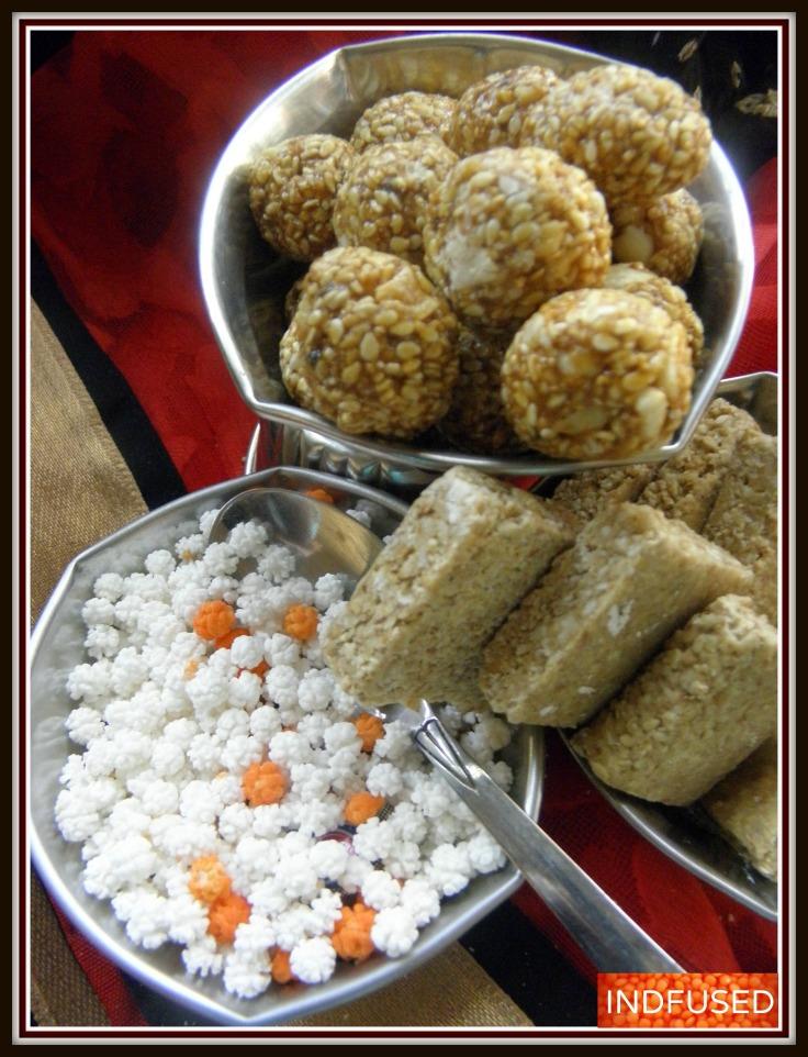 Tilgul- special sweets for Makar Sankrant