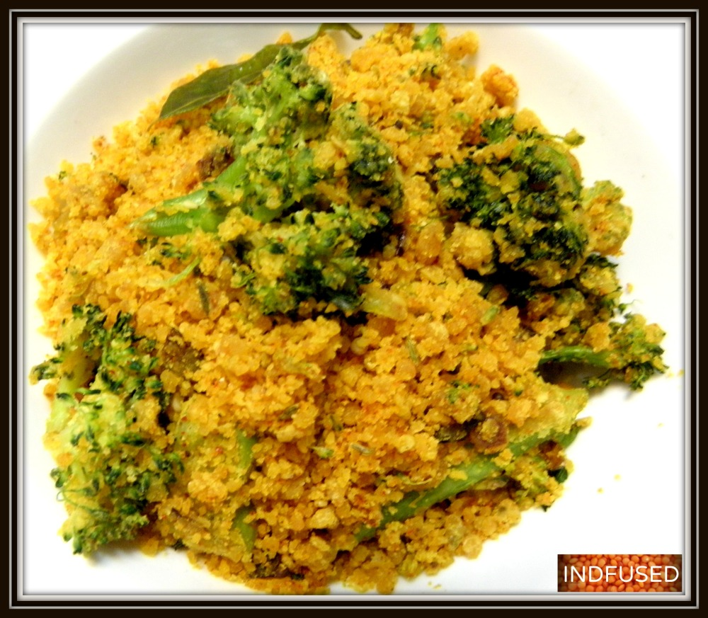 Nutritous Broccoli Zunka in 7 minutes!