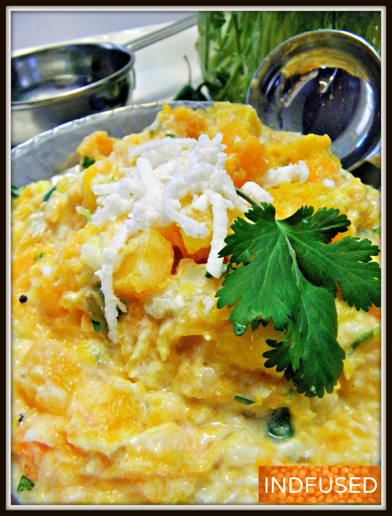 Tempting and Scrumptious Butternut Squash Bharta