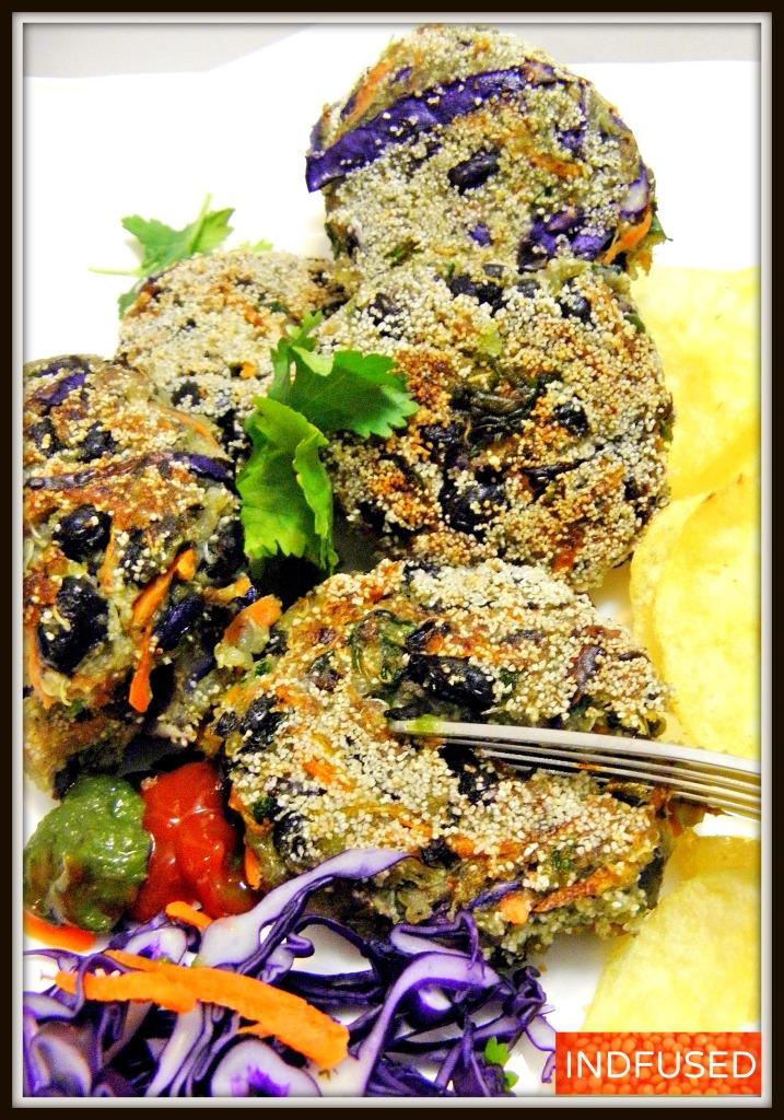 Protein rich Vegetarian Quinoa Kababs