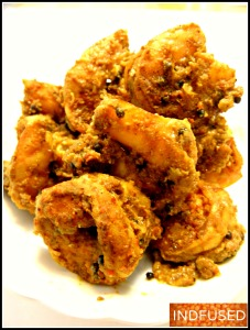 The mouth watering shrimp pickle