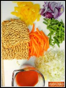 Ingredients for American Chop Suey