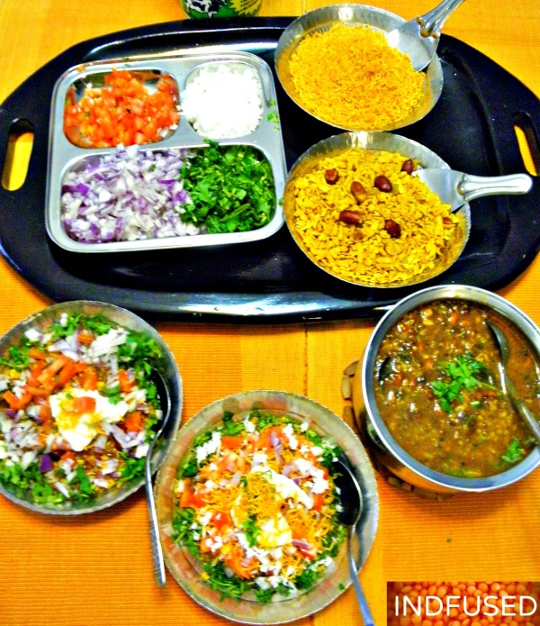 Mouthwatering Misal! The popular Maharashtrian snack food is a perfect party dish. Indfused's recipe is healthier and can be made in a pressure pan and Instant Pot.