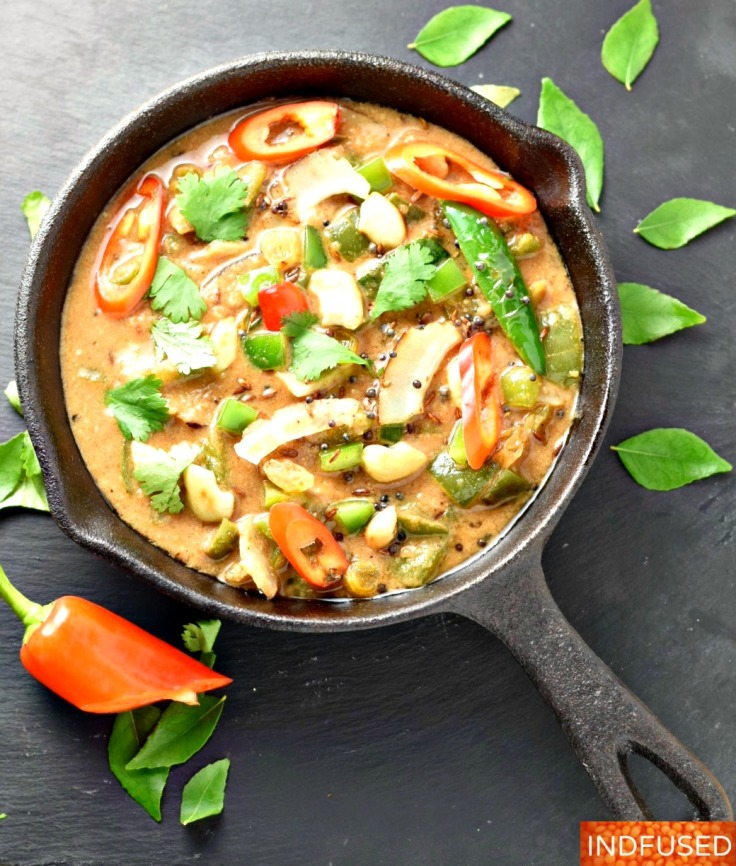 Green Pepper Panchamrut-A popular heirloom recipe