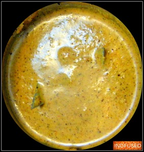 The finely ground 'masala' paste
