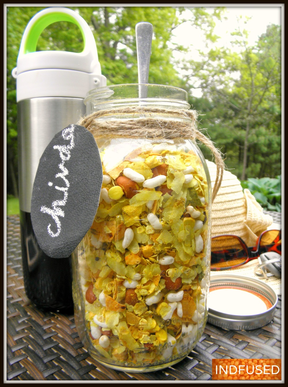 Quick and easy Chivda- a must have for all road trips!