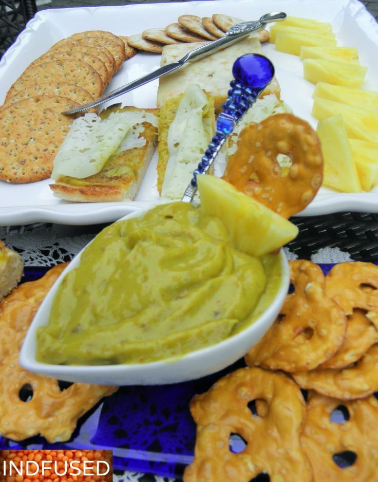 Mango Avocado Chipotle Dip/ Spread! need I say more? Yum!
