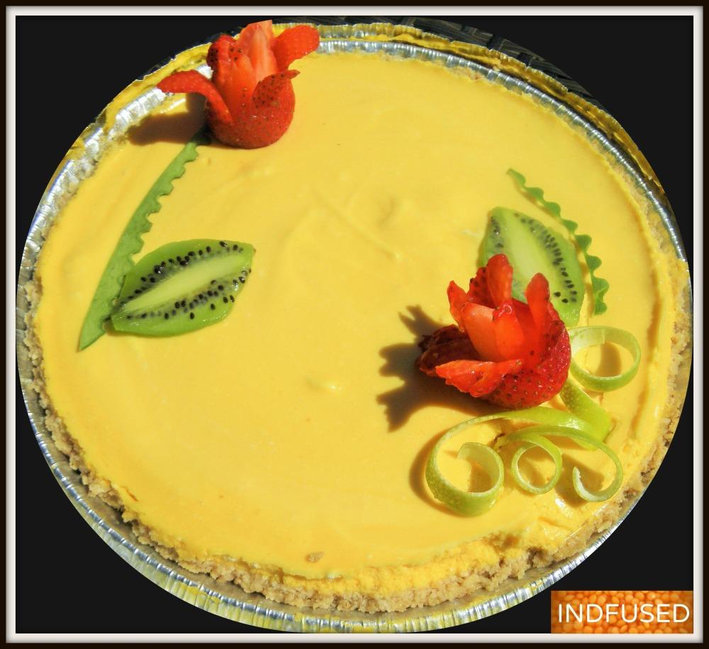 The Ambrosial Mango Pie