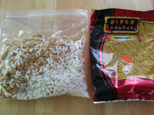 bhel in a bag