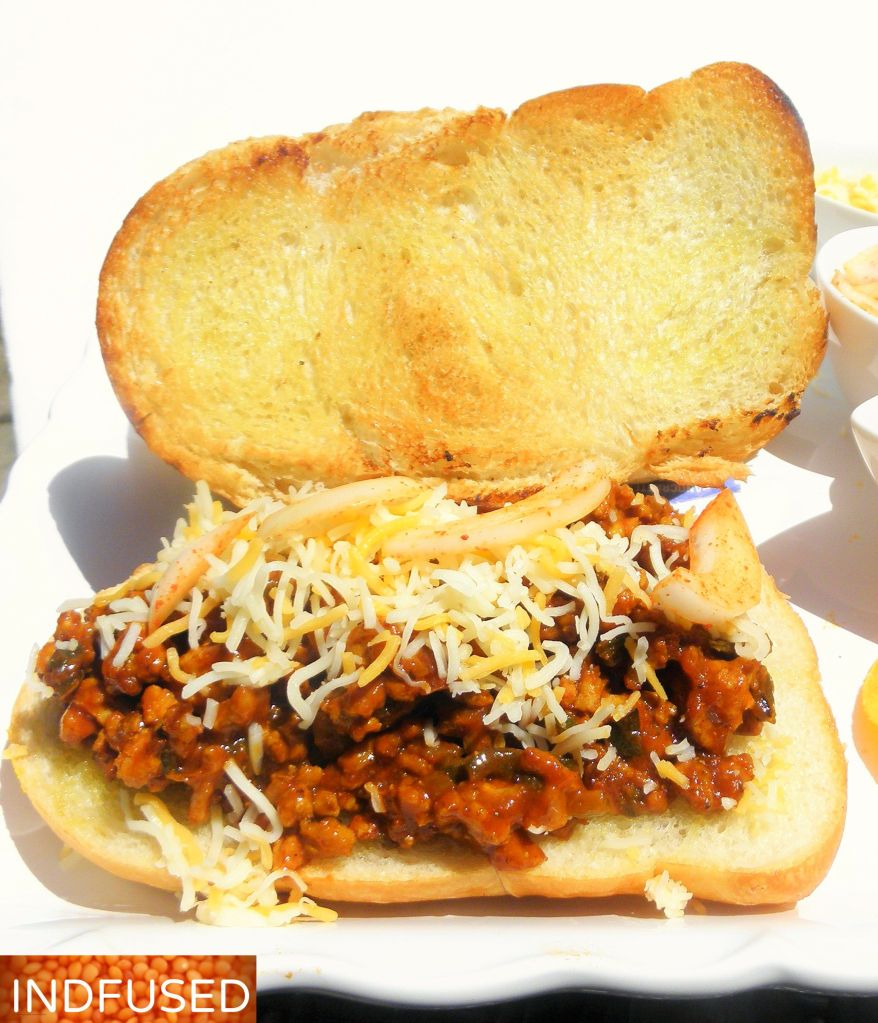 #Recipe for #Sloppy joes with #ground #chicken ,# turmeric and #Curry powder. #step by step #instructions on #how to make thsi #easy #recipe