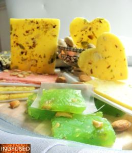 #easy step by step 3recipe for the #quick #microwave #Indian #dessert #recipe for #Bombay #halwa