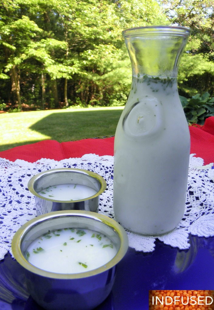 Cool off with this invigorating Kefir Mattha!