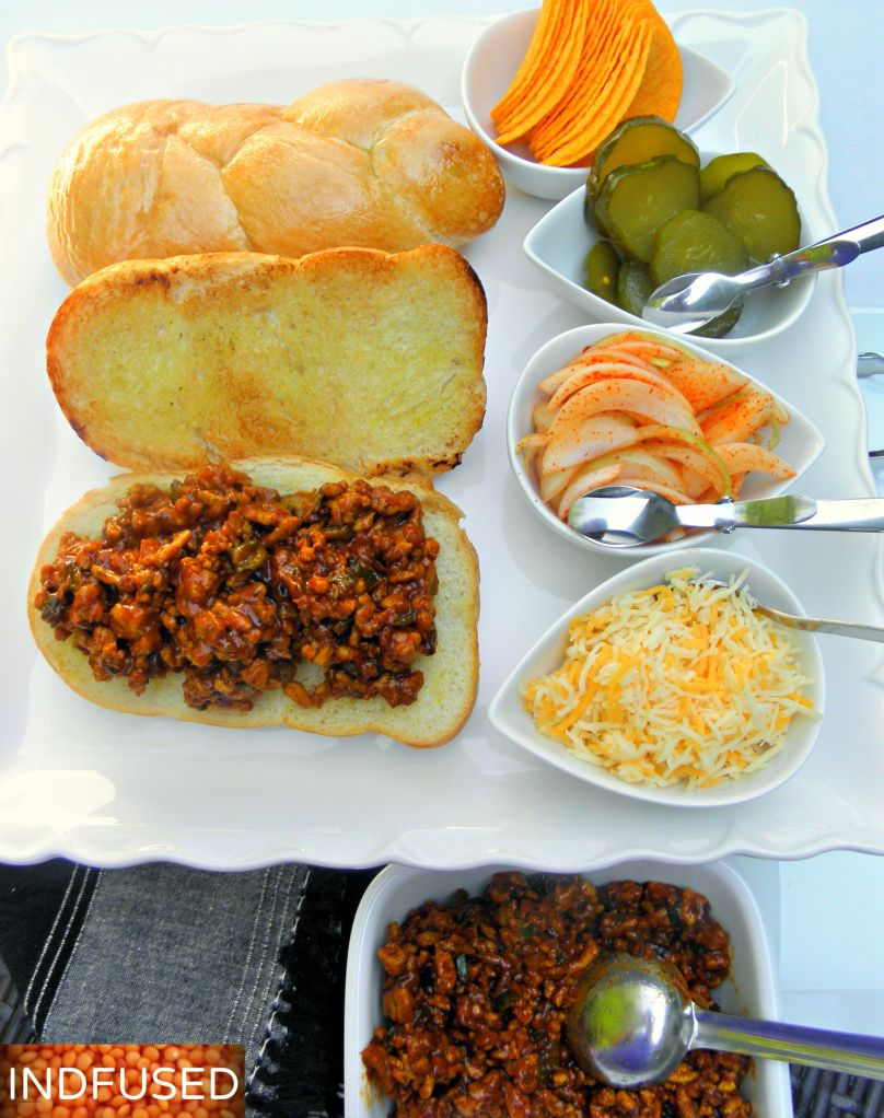 Recipe for Sloppy Joes with Indian curry powder