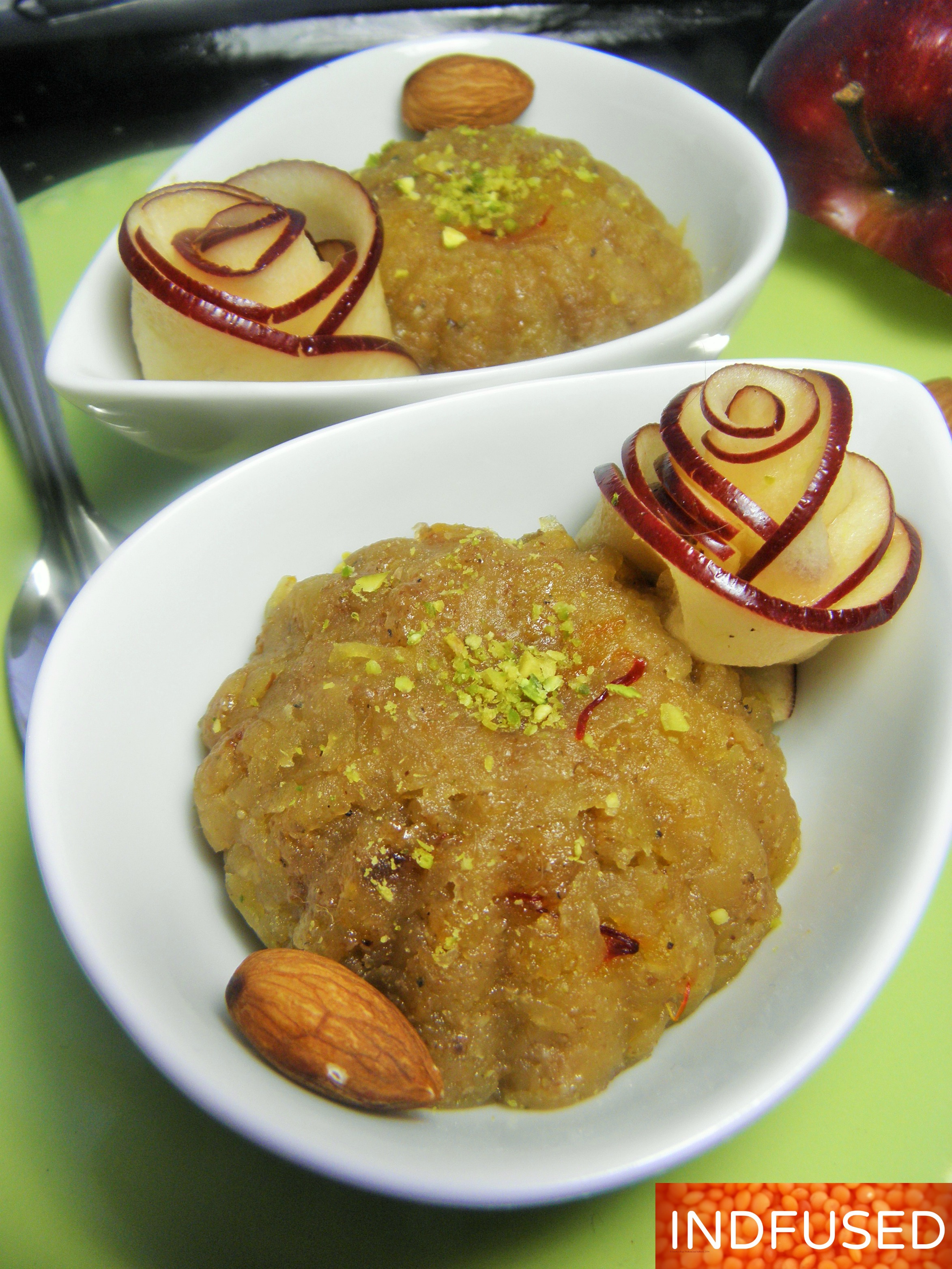 Microwave apple halwa with almonds and chia indian and indian quick and easy recipe for apple halwa an indian microwave forumfinder Gallery