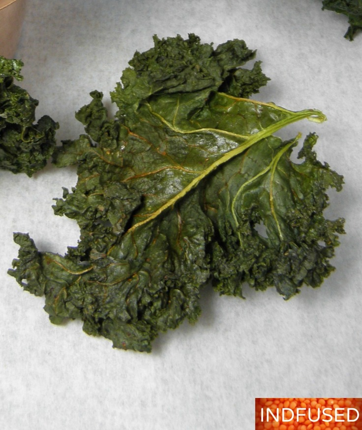 Crunchy and scrumptious Masala Kale Chips