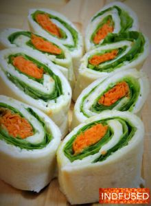#Recipe for #quick and #easy #vegetarian #Indian #fusion #cuisine #tea #sandwiches