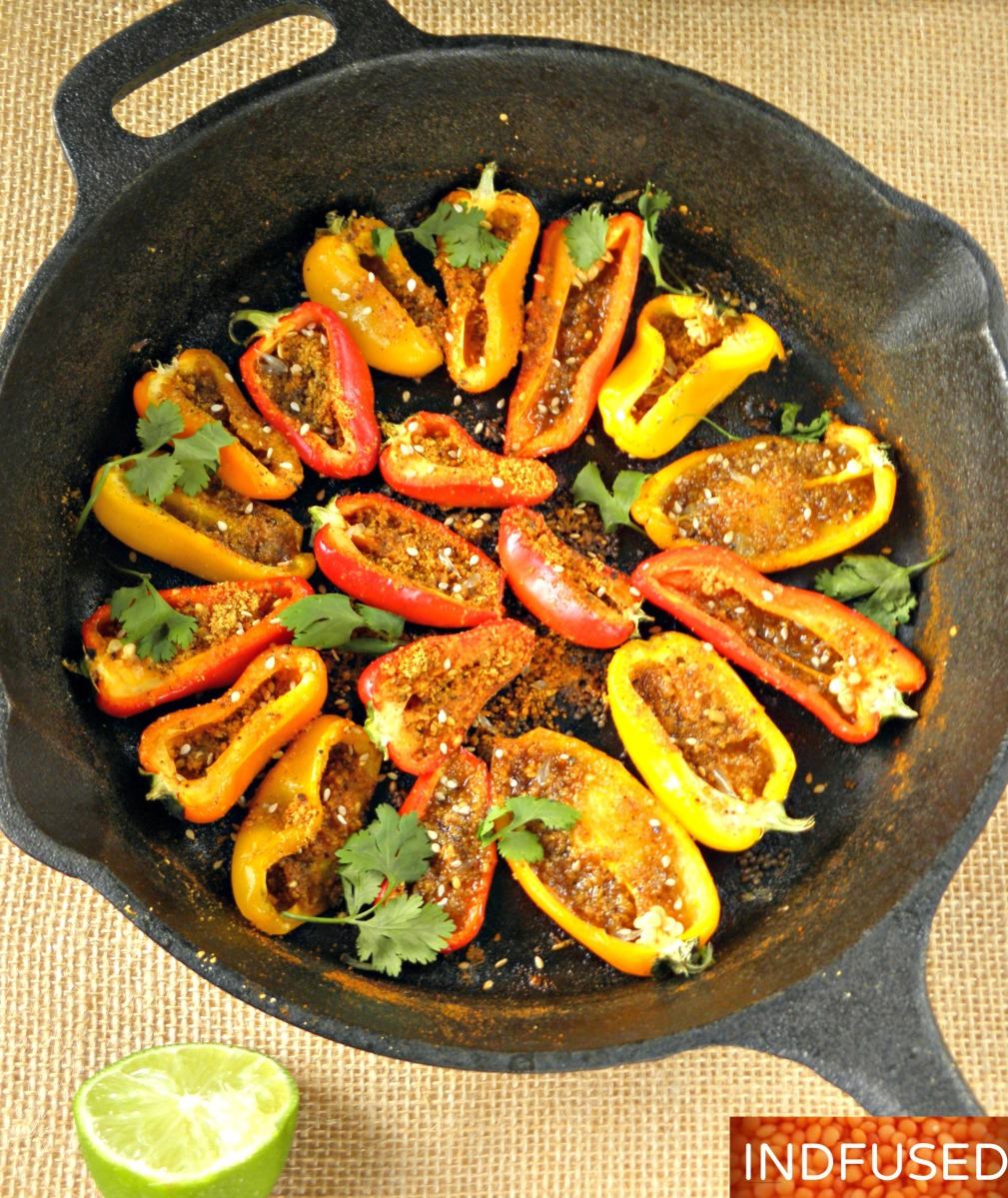 Achari mini peppers indian and indian fusion cooking in america forumfinder Images