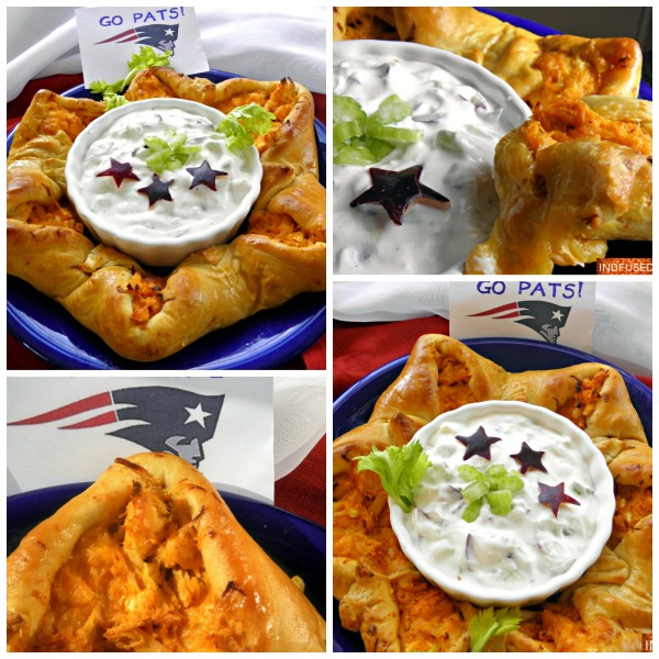 #easy #recipe for#super bowl #Sunday with #pizza dough, dip with #healthy#Costco Greek yogurt