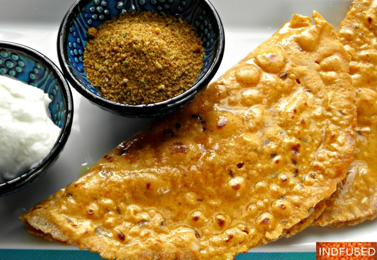 Healthy recipe for Indian multi grain roti/wrap made with yogurt, flax seed and extra virgin olive oil