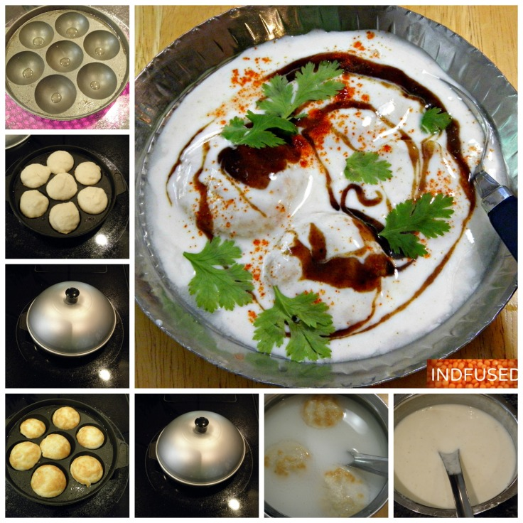 #Indian recipe for #figure friendly #dahiwadas made in an #aape pan