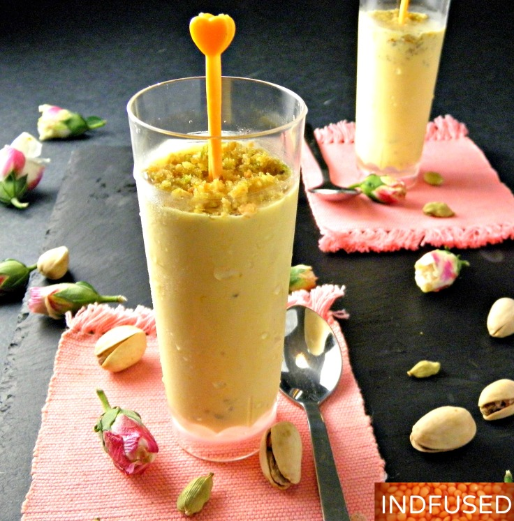 Indian fusion 5 ingredient easy recipe for Mango Kulfi icecream!