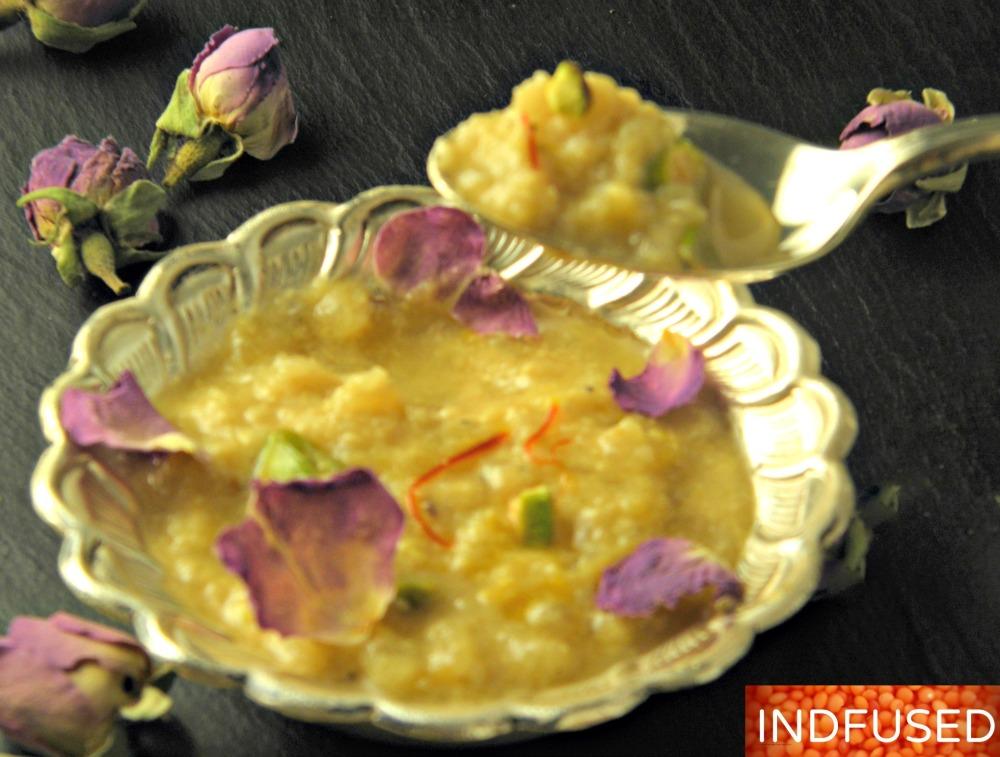 #easyrecipe, #Indianfusion #pearrabdi #dessertrecipe for #Dassera #healthier #rubdi #rabdirecipe