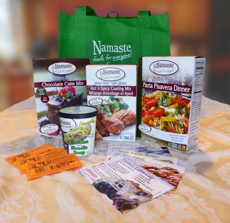 Namaste Giveaway!