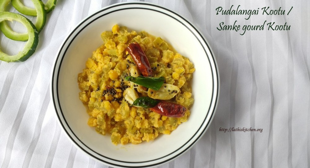 Lathiya's  Classic South Indian Pudalangai Kootu