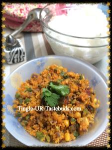 Meena's beans Paruppu Usili