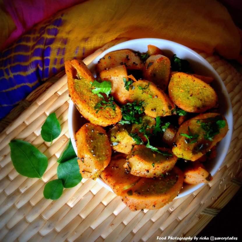 Richa's Chana Dal Fara Gojha Peetha-steamed-lentil-stuffed-dumplings