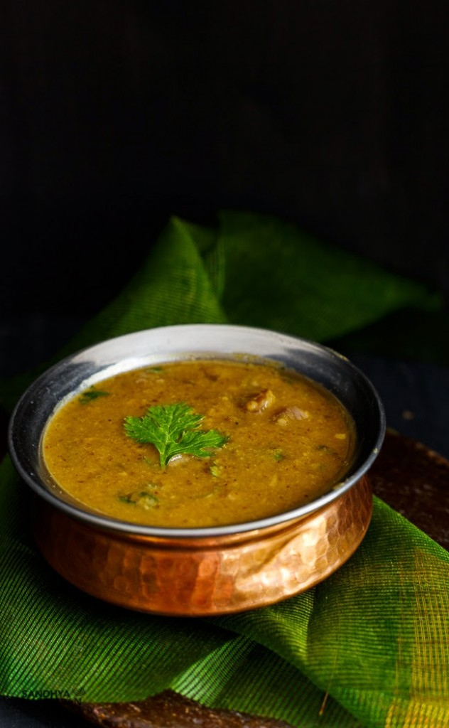 Sandhya's Onion Sambhar