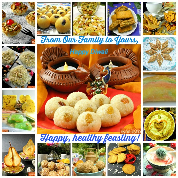 Diwali Faral recipes are sweet and savory snacks made for Diwali. Easy, streamlined, healthier recipes made with local ingredients