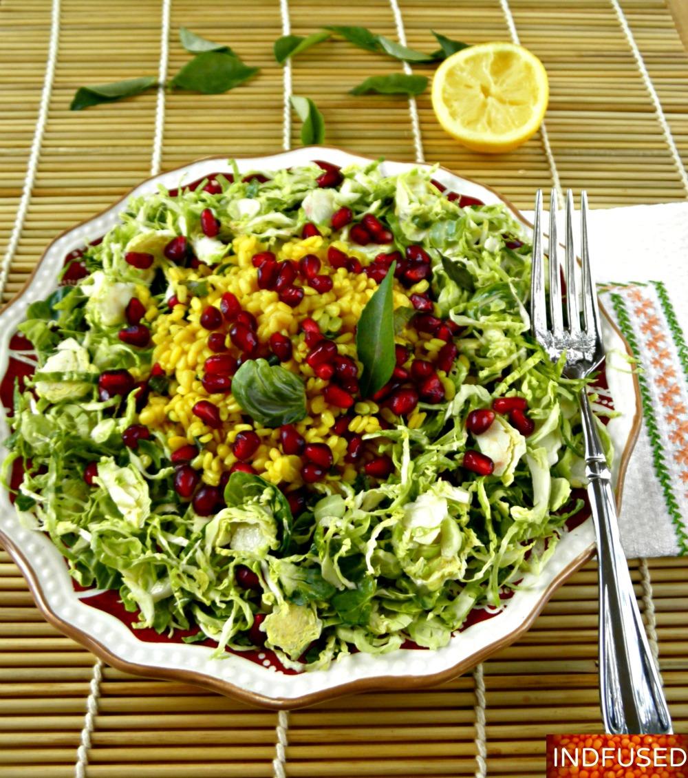 Indian fusion recipe healthy, scrumptious salad