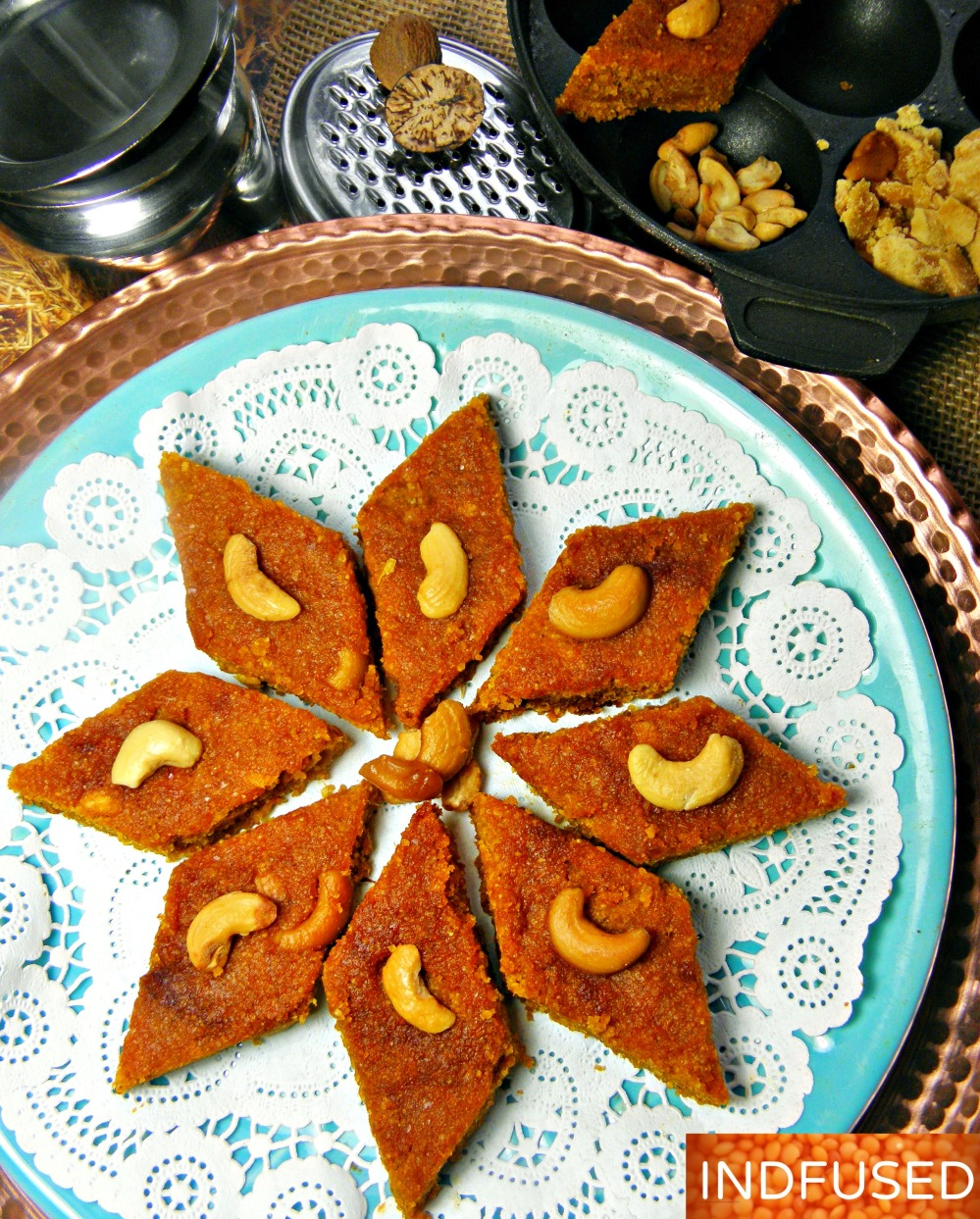 Easy Pumpkin dessert wholesome,earthy flavor and an enticing autumn aroma!