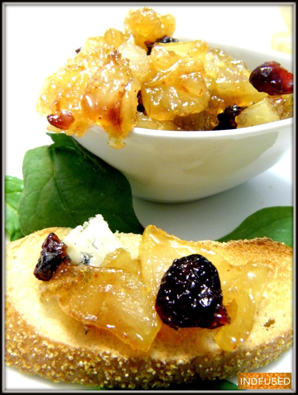 Pear Chutney for the Holidays!