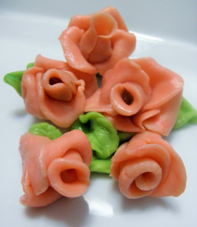 Easy Indian dessert recipe for edible roses