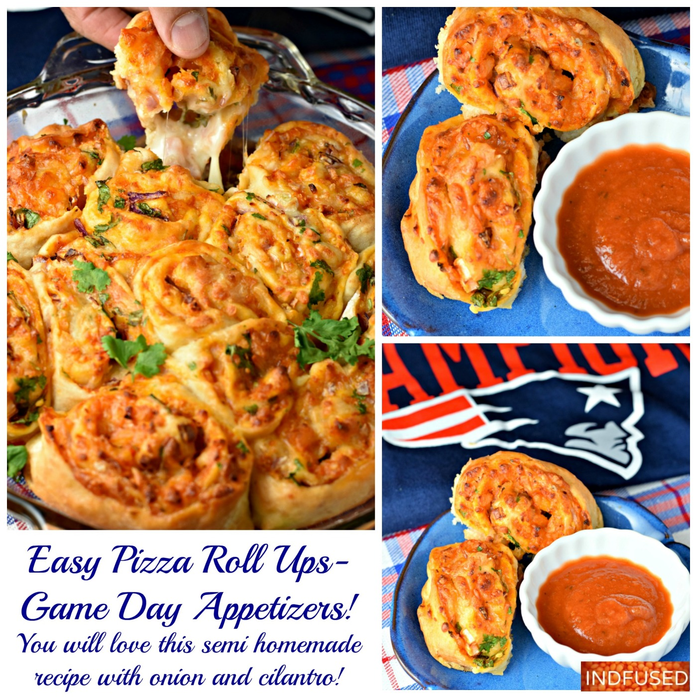Easy recipe for pizza roll ups using #bettycrockerpizzacrust and #trdaerjoesmarinarasauce