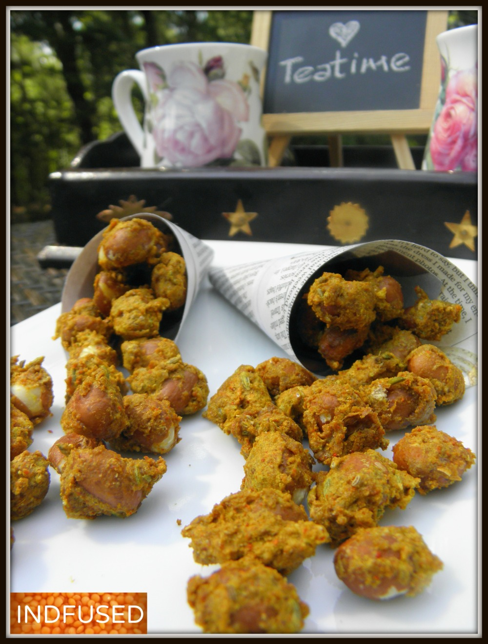 Mouthwatering , favorite snack made quick and easy. Masala Peanut Bhujia is a favored Indian snack, serves 4