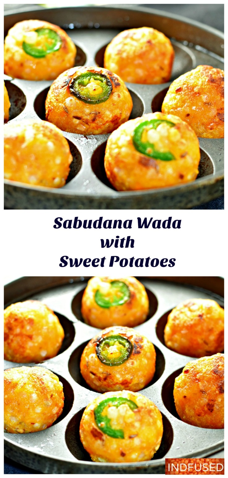 Savory, Nutritious Sabudana Wada is Indian snack eaten especially during the fasting season. Vrat or Upaas special