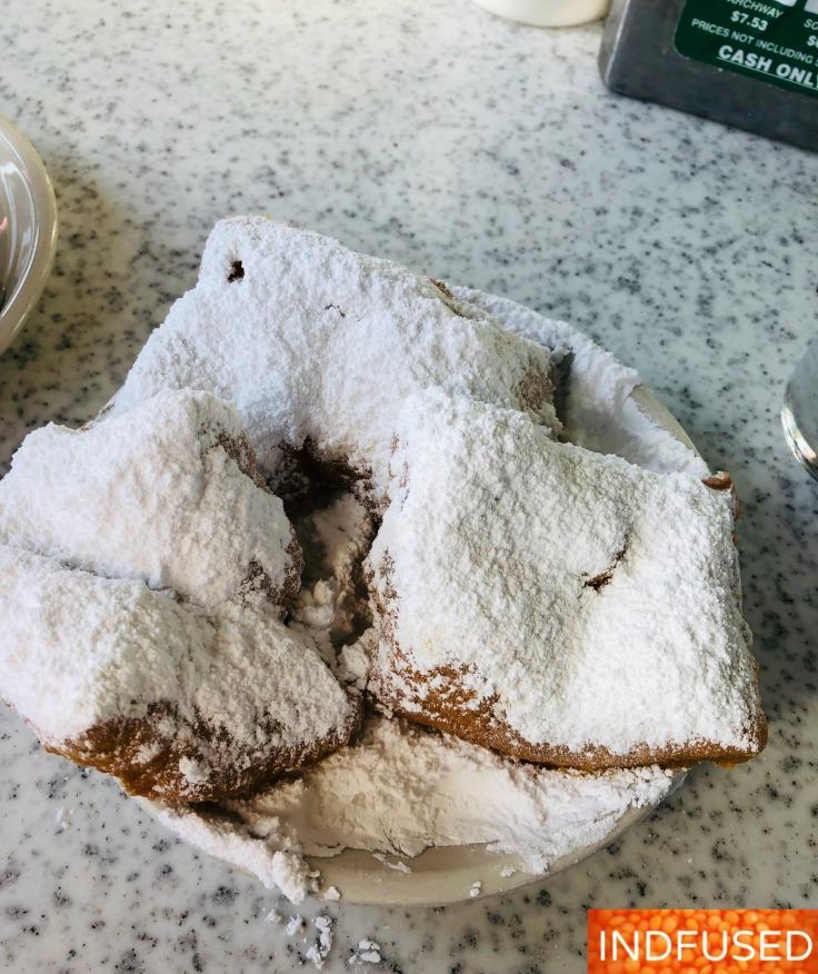 Beignets at Cafe Du Mont