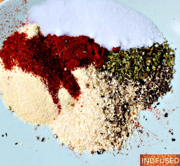 My homemade Creole Seasoning Mix recipe below!