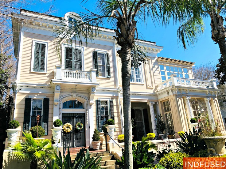 Gorgeous homes in the Garden district