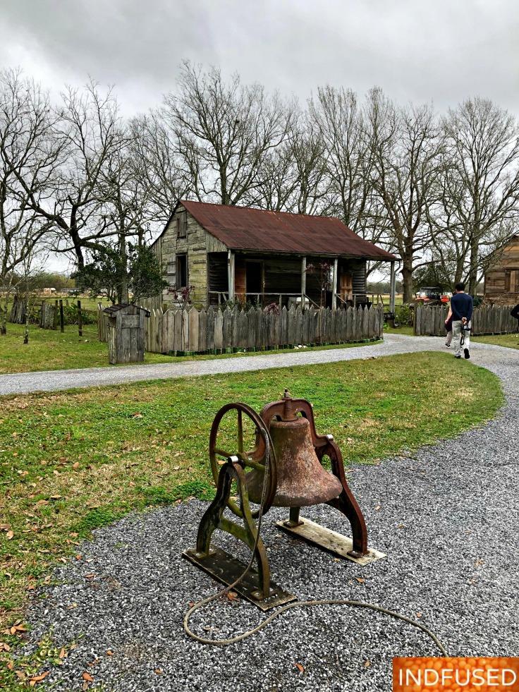 Slave quarters, Laura Plantation
