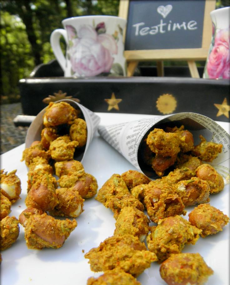 Air Fryer Masala Peanut Bhujia-A protein rich, gluten free snack
