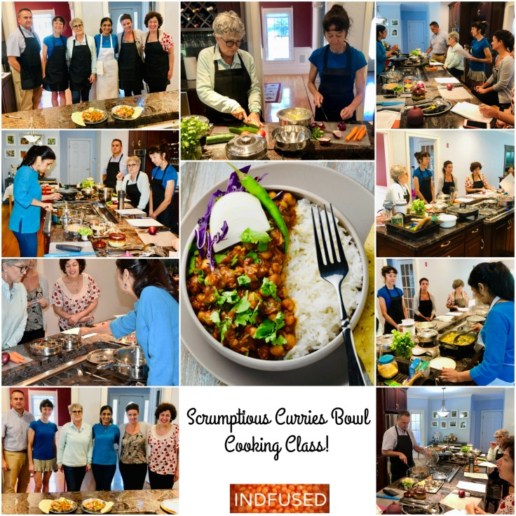 Scrumptious curry bowls class pics