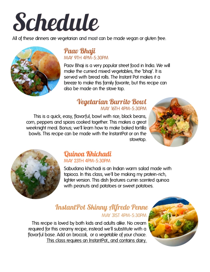 Saturday Cook Along Flyer Pg 2